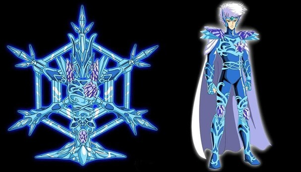 Qual a constelação do Cavaleiro de Cristal e fillers de Saint Seiya?