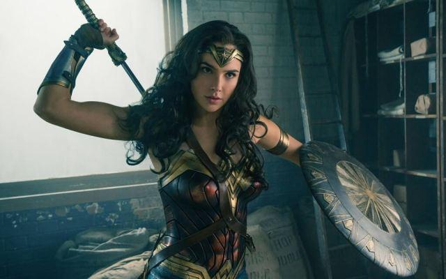 Mulher-Maravilha lutando filme Mulher Maravilha
