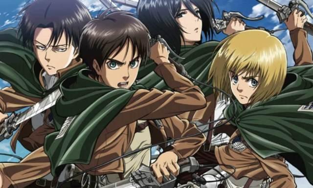 Shingeki no Kyojin temporada 3 Attack on Titan equipe Levi season 3
