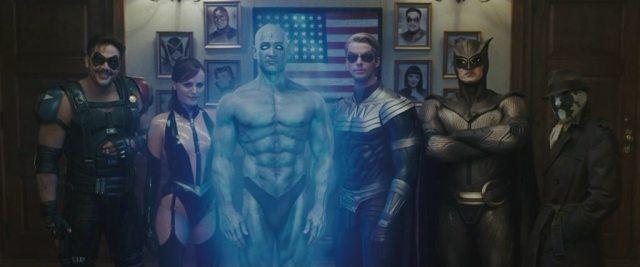 Watchmen na HBO poster filme 2009