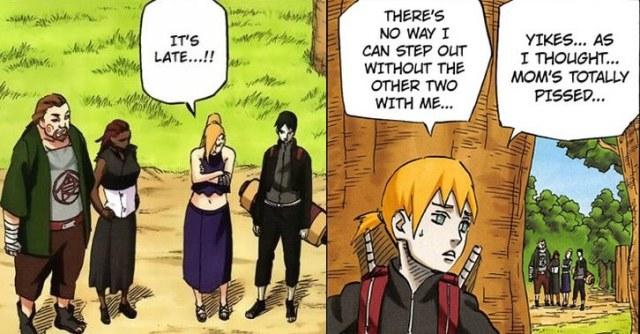 Inojin Ino Sai Yamanaka casais de Naruto