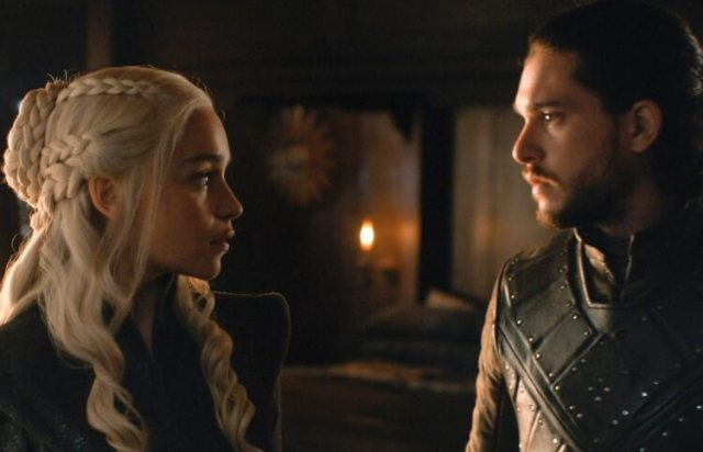 Jon Snow e Daenerys Targaryen casam Game of Thrones Temporada 8