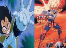 Vegeta vs Ikki de Fênix crossover heroi x