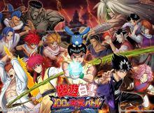 yu yu-hakusho 2017 100 maji battle jogo mobile rpg