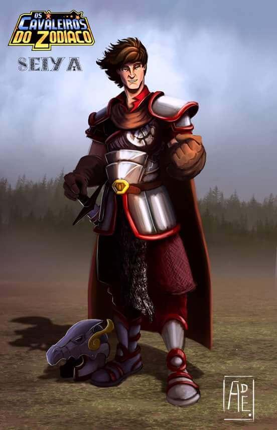 Cavaleiros do Zodíaco medievais seiya de pégaso