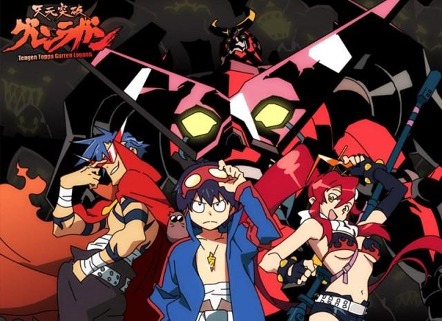 Tengen Toppa Gurren Lagann melhores animes da Netflix