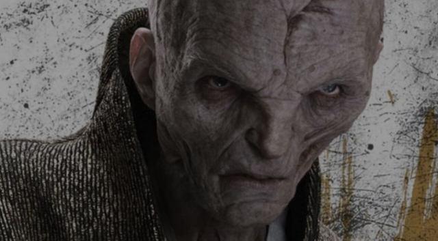 Lider supremo snoke star wars os últimos jedi episódio VIII 8