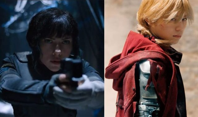 Whitewashing ghost in the shell fullmetal alchemist live action
