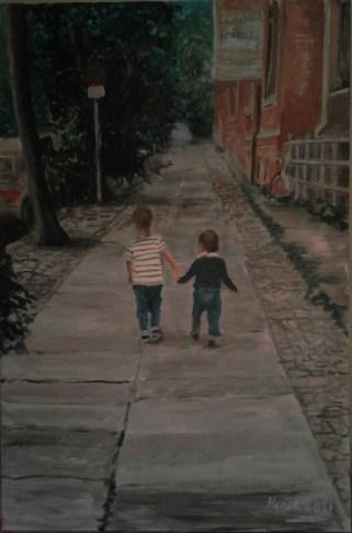Brüder (50 x 80 cm)