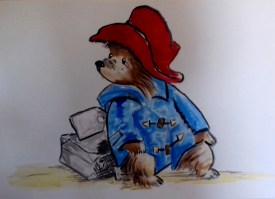 Paddington Bär - Figur nach Michael Bond (60 x 90 cm)