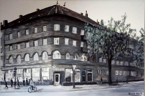 Ehemaliges Café Nowka Hannover