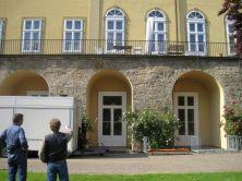 Schloss Bückeburg vor dem Aufbau der Bühne