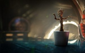 Dancing Groot Guardians of the Galaxy