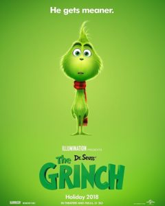 Grinch poster Dr Seuss