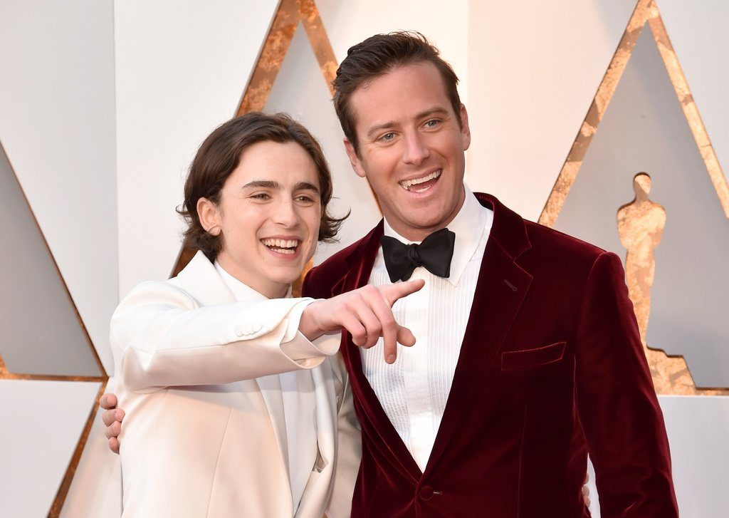 Armie Hammer and Timothee Chalamet, the 90th Academy Awards 2018