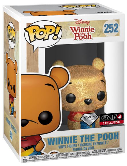 Winnie The Pooh Diamond Collection Funko Pop