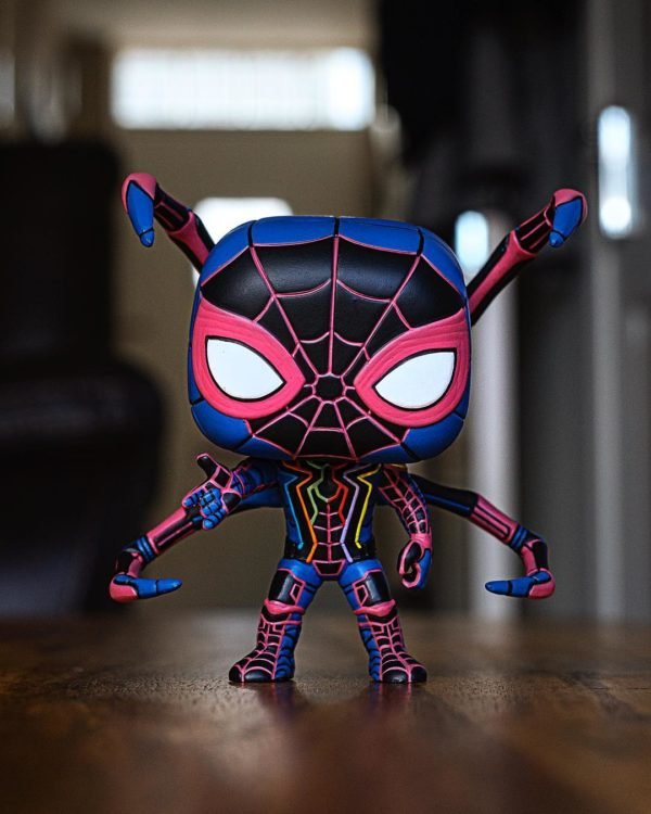 custom Iron Spidey by Abbernaffy Customs spider-man infinity war avengers