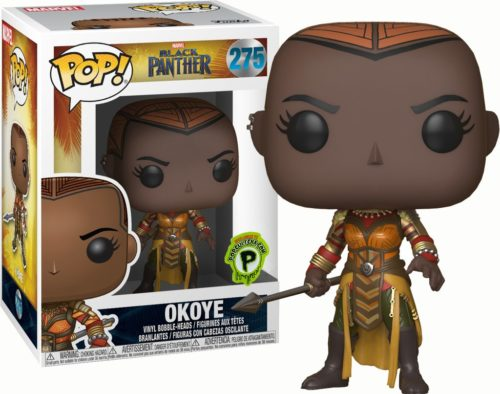 Okoye Funko Pop Popcultcha Exclusive Black Panther MArvel MCU
