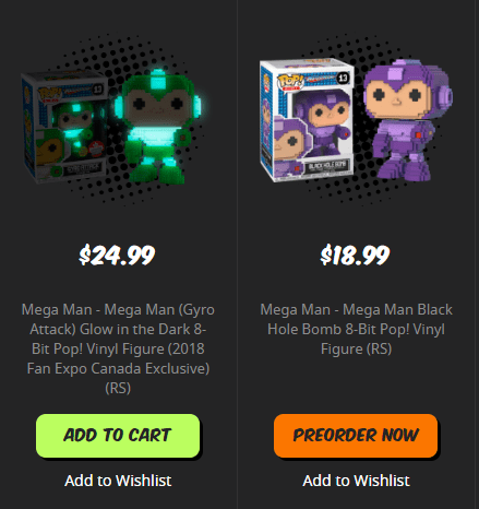 Funko Pop Exclusive at Popcultcha