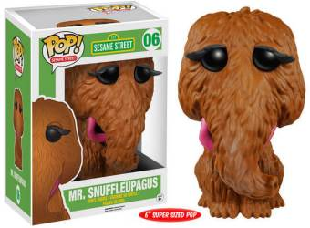 Sesame Street Mr Snuffleupagus Funko Pop