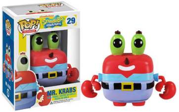 Mr Krabs Funko Pop Spongebob Squarepants