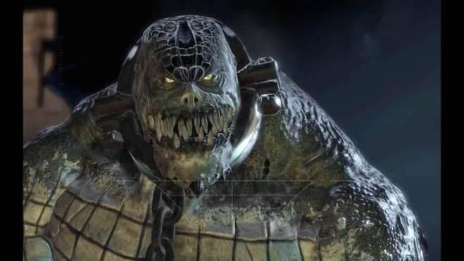 Killer Croc on Batman: Arkham Asylum
