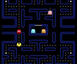 Pac Man by Namco arcade game