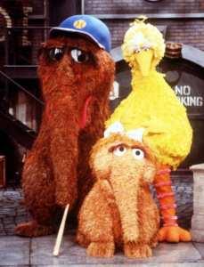 Mr Snuffleupagus at Sesame Street
