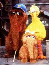 Mr Snuffleupagus at Sesame Street