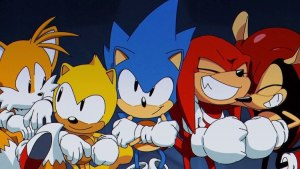 Sonic The Hedgehog animation by DIC Enterntainment