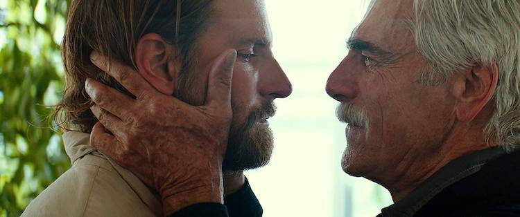 Sam Elliot and Bradley Cooper in A Star Is Born (2018) dir. Bradley Cooper