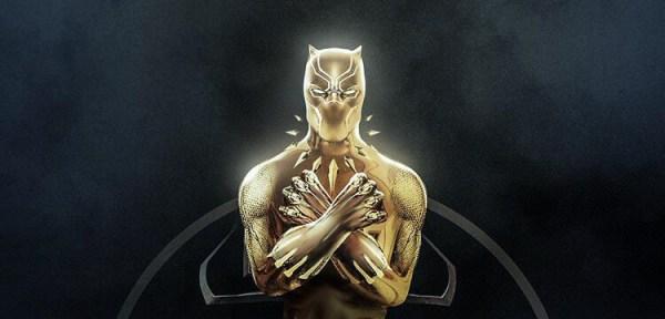 Black Panther Oscar By BossLogic Inc