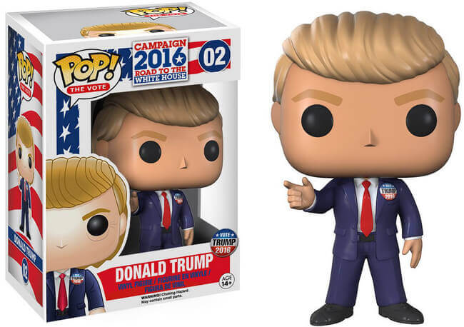 Donald Trump Funko Pop USA pressident of United States