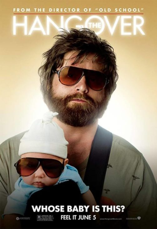 The Hangover 2009 poster Zack Galifianakis