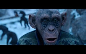War of the Planet of the Apes 2017