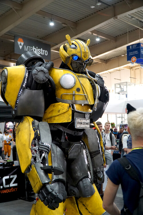 bumblebee transformers Pyrkon 2019