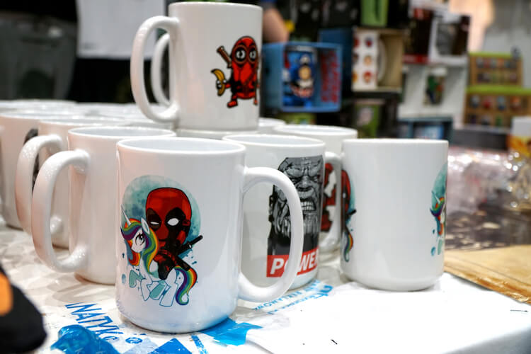 cups deadpool thanos marvel Pyrkon 2019