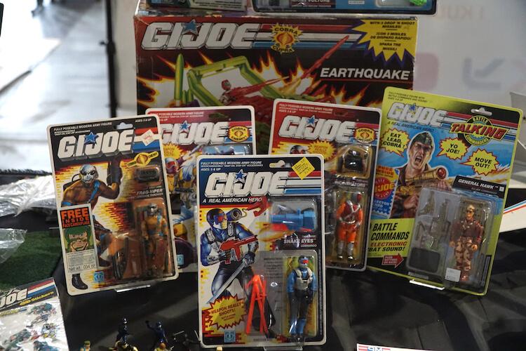 G.I. Joe collection Pyrkon 2019