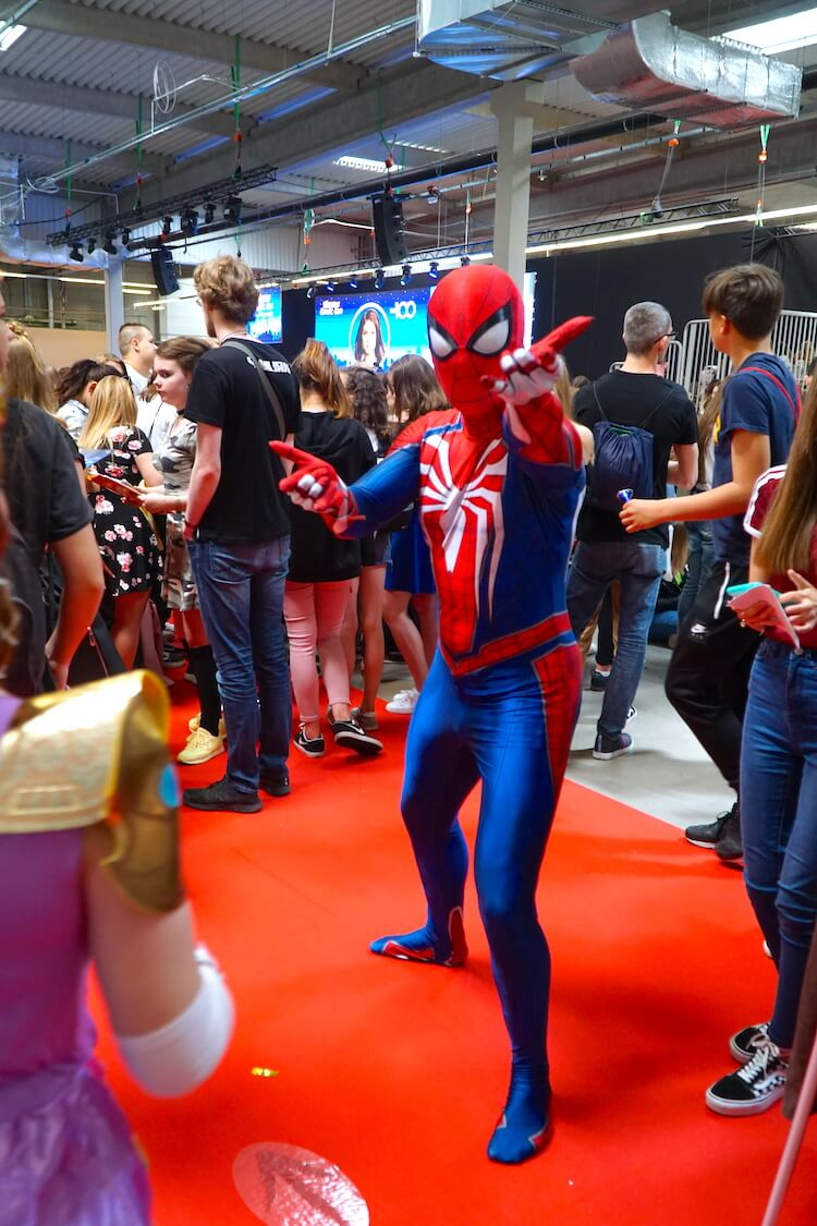 Warsaw Comic Con: Spider-man cosplay
