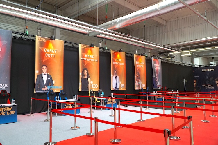 Warsaw Comic Con: Autograph booths