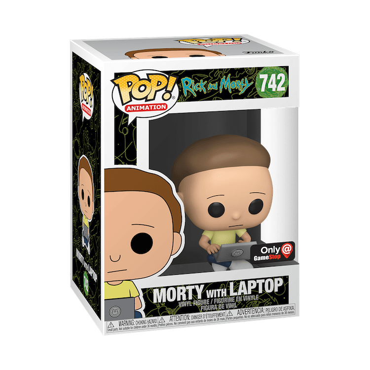 Morty Funko Pop Gamestop Exclusive