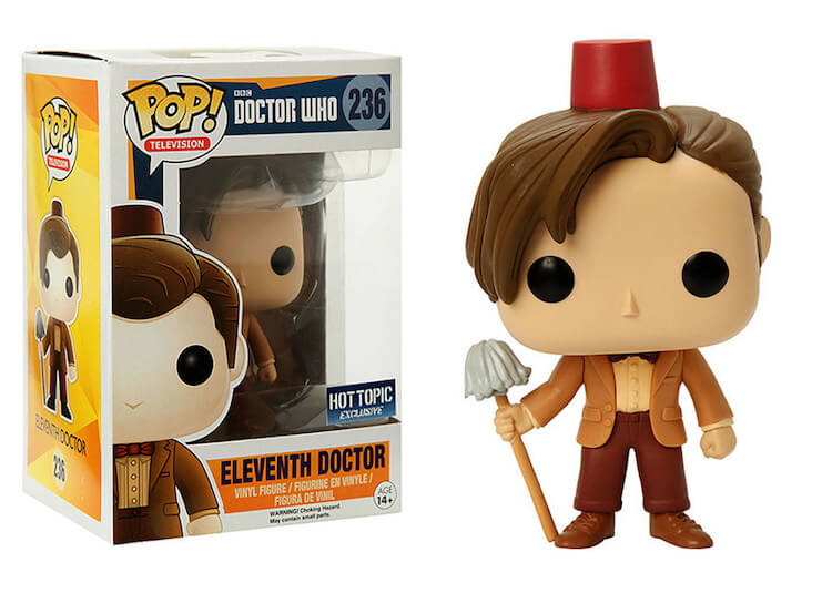 The Doctor Funko Pop Hot Topic Exclusive