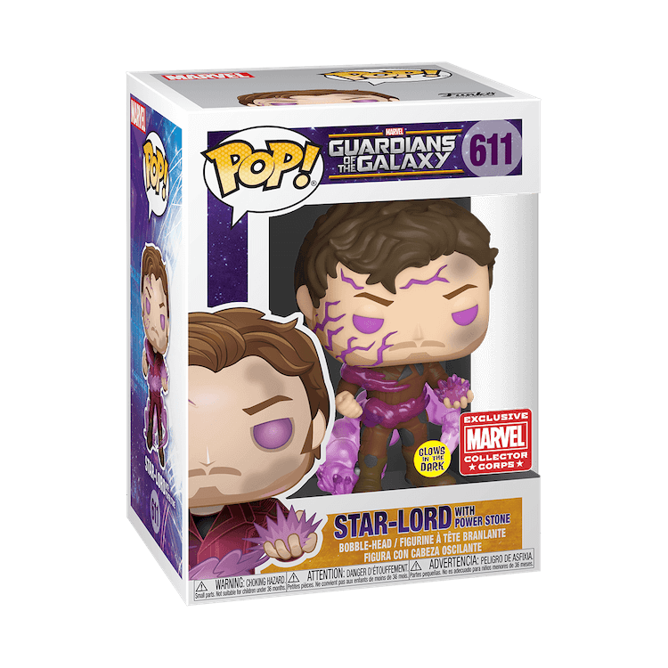 Star-Lord Funko Pop Marvel Collector Corps Exclusive