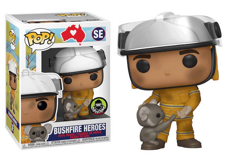 Bushfire Heroes Funko Pop Popcultcha Exclusive