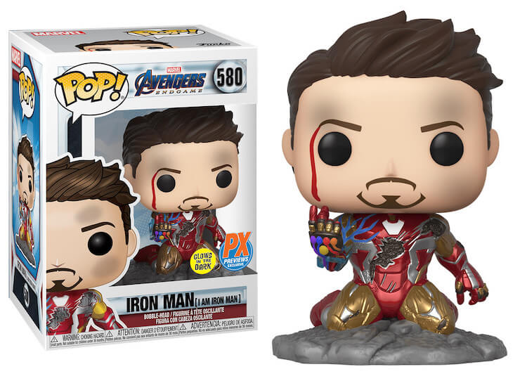 Iron Man Funko Pop PX Previews Exclusive