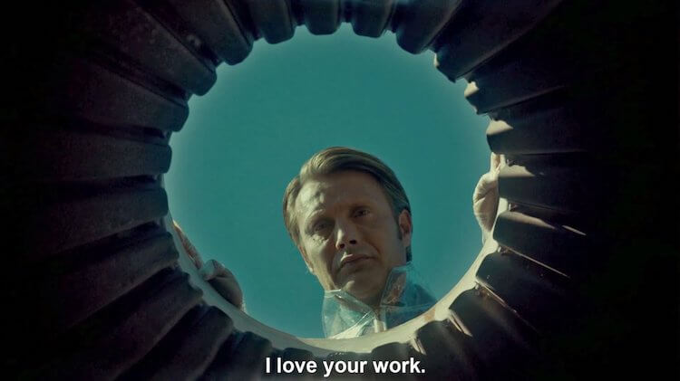 hannibal, mads mikkelsen, I like your work