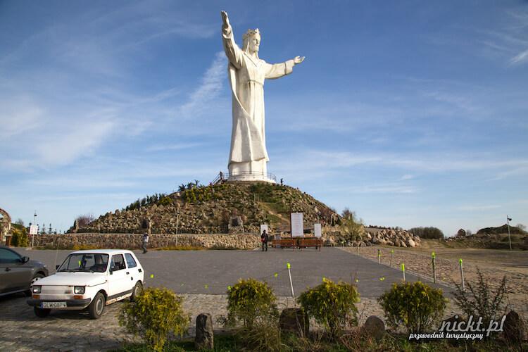Jesus Christ statue in Świebodzin Poland