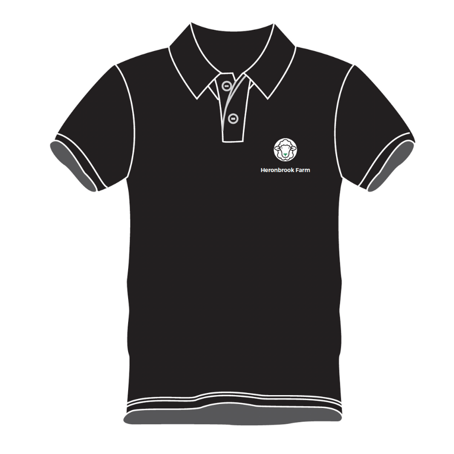 black polo front