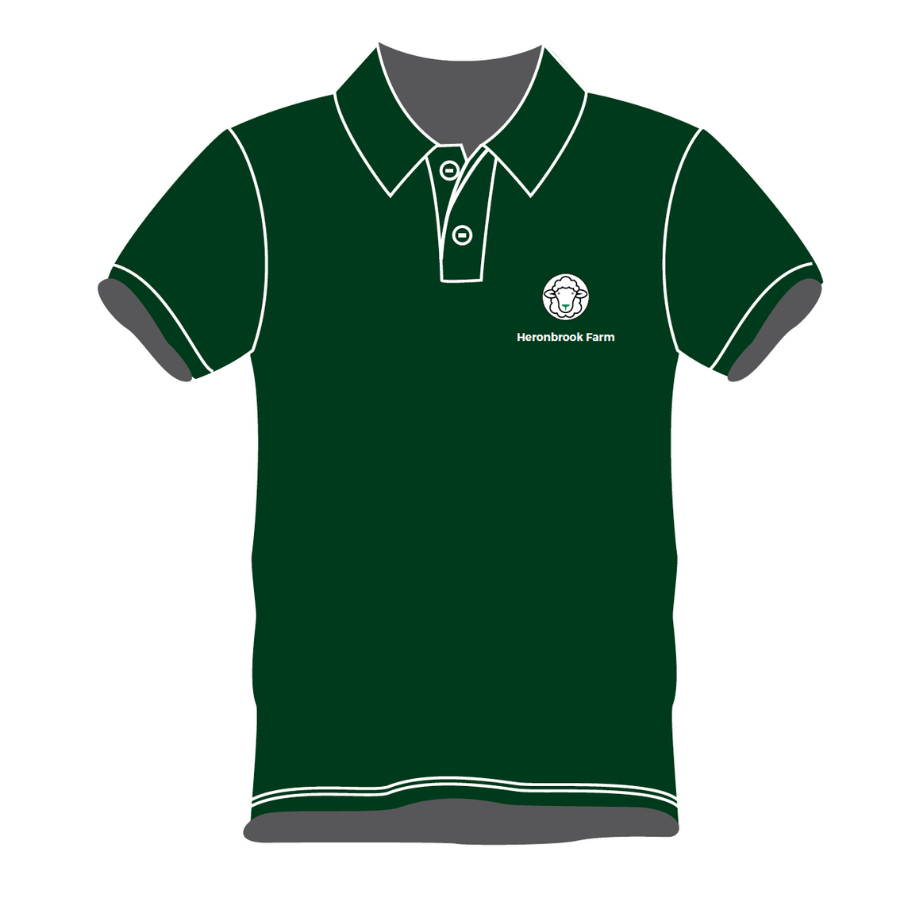 green polo front