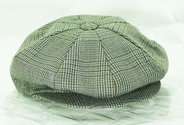 Casquette gavroche pour homme version laine